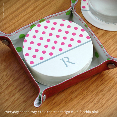 Sip-in-Style Everyday Coaster + Snappitray Set (#343)