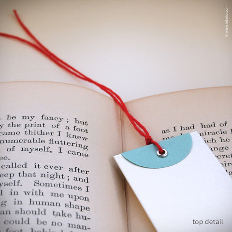 """Merry Christmas"" Gift Tag Bookmark (#348) Bookmark - Inkello Letterpress"
