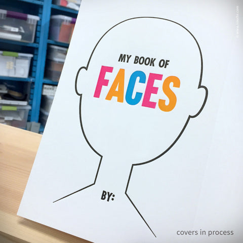 My Book of Faces Four-Panel Sketchbook (#365)