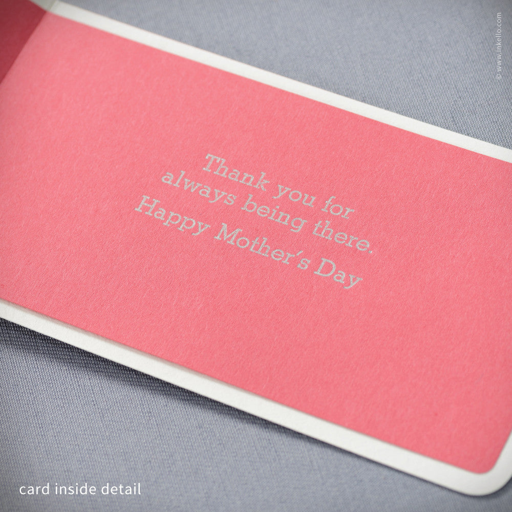 Bandage Mother's Day Card (#380) Greeting Card - Inkello Letterpress
