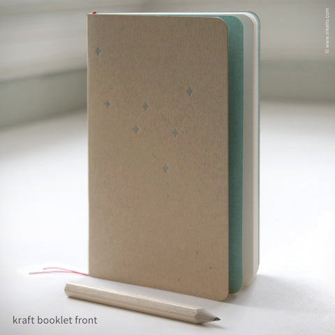 Star Booklet + Pencil {#397} Notebook - Inkello Letterpress