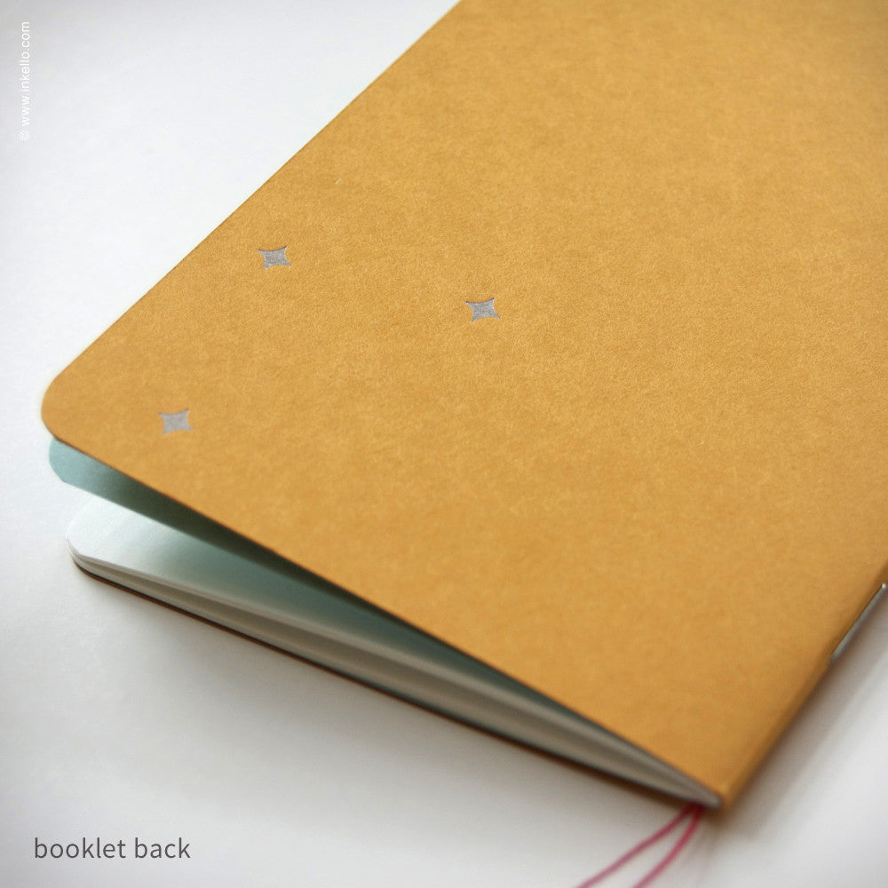 Star Booklet + Pencil (#397) Notebook - Inkello Letterpress