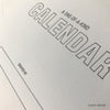 Draw-Your-Own Monthly Hanging Calendar (#452) Calendar - Inkello Letterpress