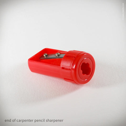 Carpenter Pencil + Sharpener (#458)