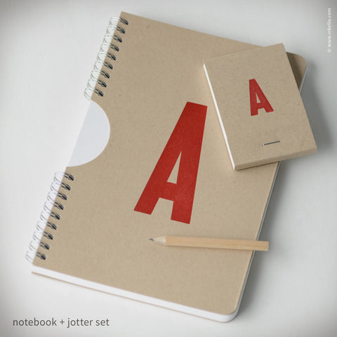 Monogram Notebook + Jotter Set (#463)