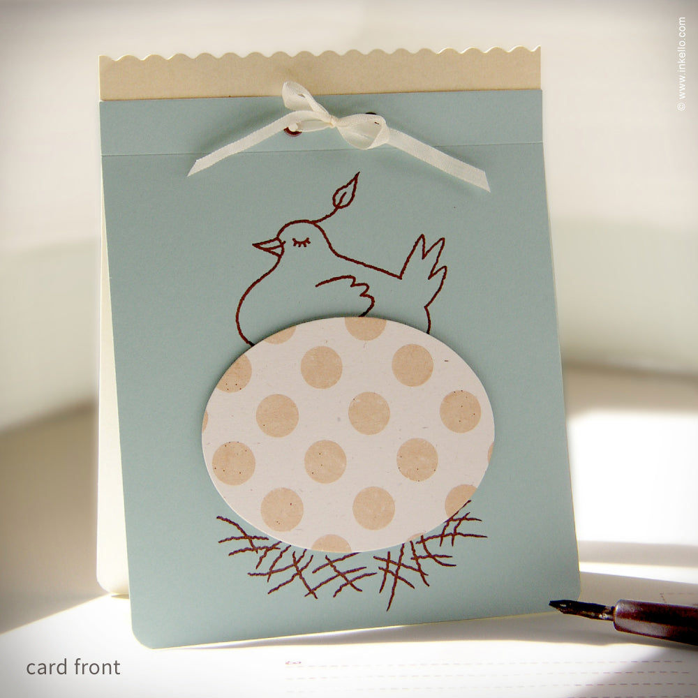 Mother's Day Egg Card {#106}