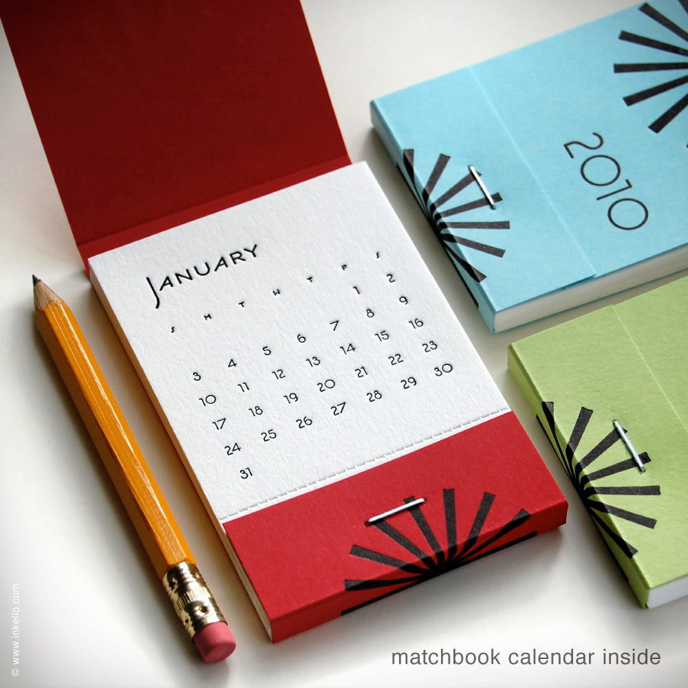 2010 Matchbook Calendars {#107}