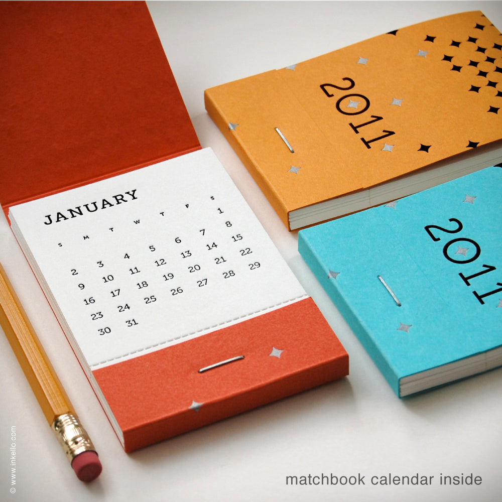 2011 Matchbook Calendars {#107}