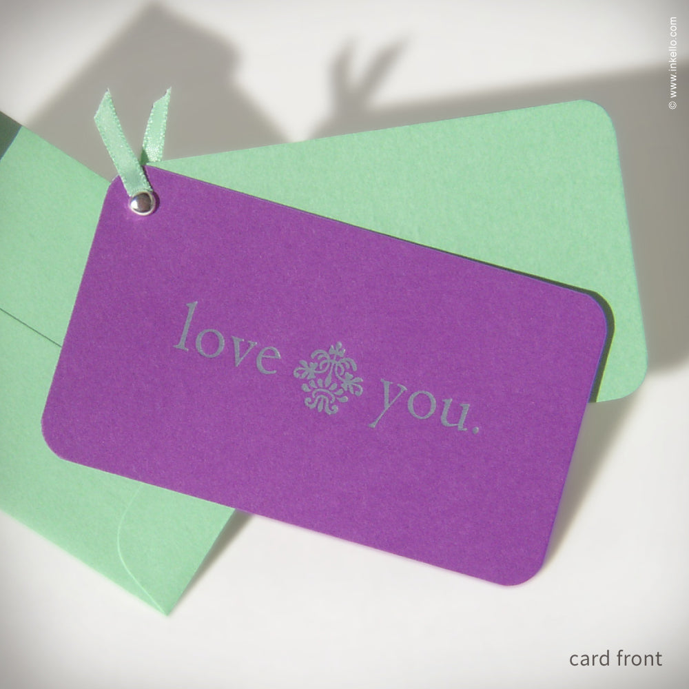 "Mini ""Love You"" Card {#120}"