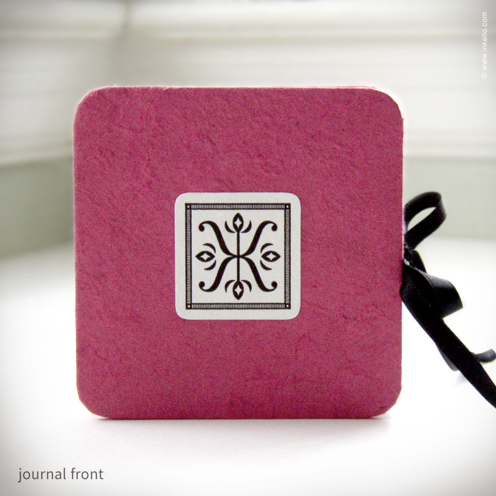 Itty Bitty Pink Accordion Journal {#126}