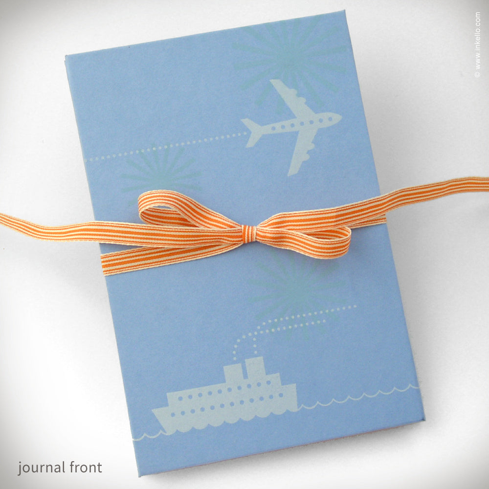 Jet & Ship Accordion Travel Journal {#158}