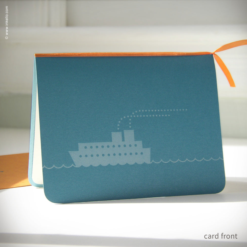 Bon Voyage Ship Card {#171}