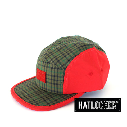 crooks-castles-mad-plaid-5-panel