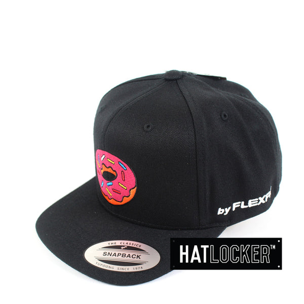 Flexfit - The Simpsons Donut Black Youth Snapback