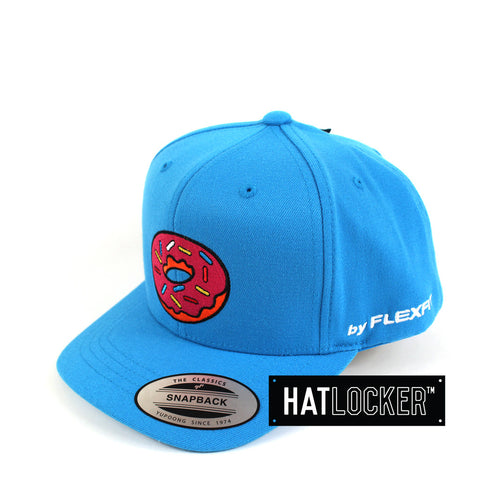 Flexfit - The Simpsons Donut Blue Youth Snapback
