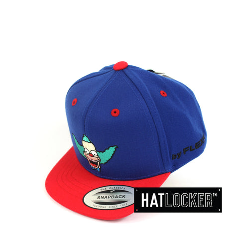 Flexfit The Simpsons Krusty Blue Red Toddler Snapback Hat Side