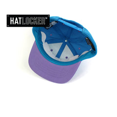 Flexfit The Simpsons Krusty Blue Purple Toddler Snapback Hat Under