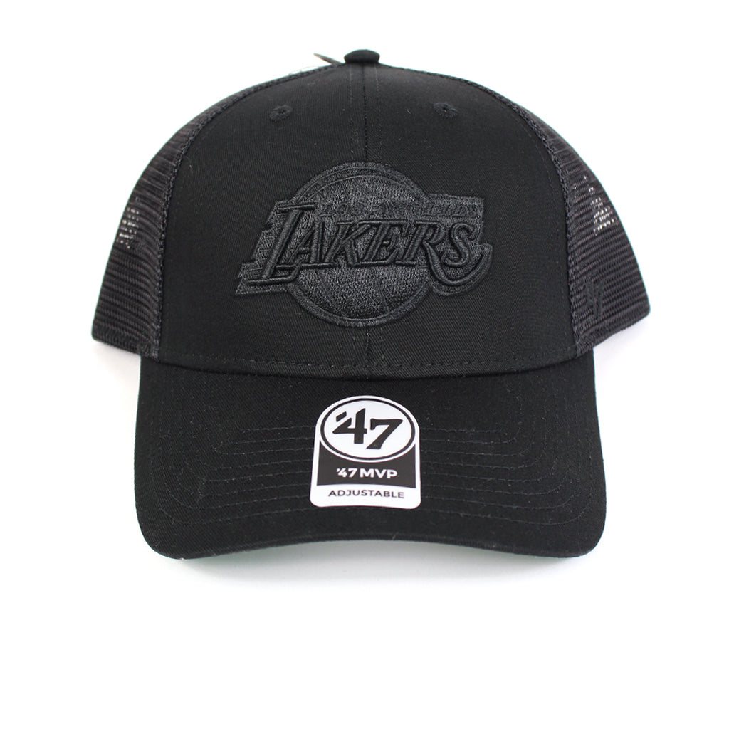 LA Lakers Trucker Hat Black Branson 47 MVP Snapback 47 Brand