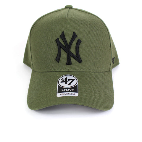 47 Brand New York Yankees Sandalwood 47 MVP DT Curved Snapback