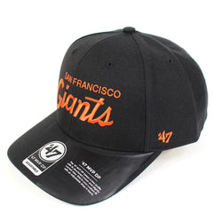 47 Brand San Francisco Giants Black Replica Script 47 MVP DP Snapback