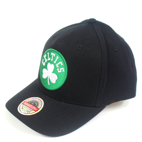 Mitchell & Ness Boston Celtics Black Colour Logo Redline Snapback