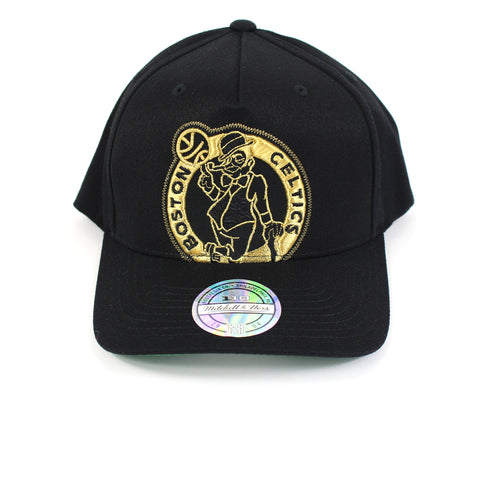 Mitchell and Ness Boston Celtics Crop Neon PP Flex 110 Snapback