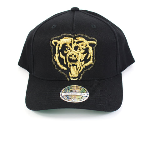 Mitchell and Ness Chicago Bears Crop Neon PP Flex 110 Snapback