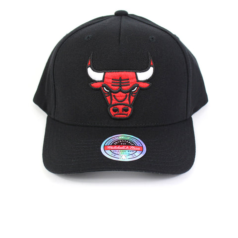 Mitchell & Ness Chicago Bulls Black Colour Logo Redline Snapback