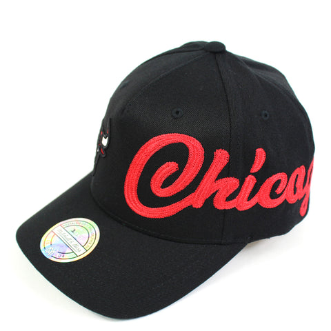 Mitchell Ness Chicago Bulls Side Out PP Flex 110 Snapback