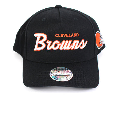 Mitchell and Ness Cleveland Browns Defense PP Flex 110 Snapback
