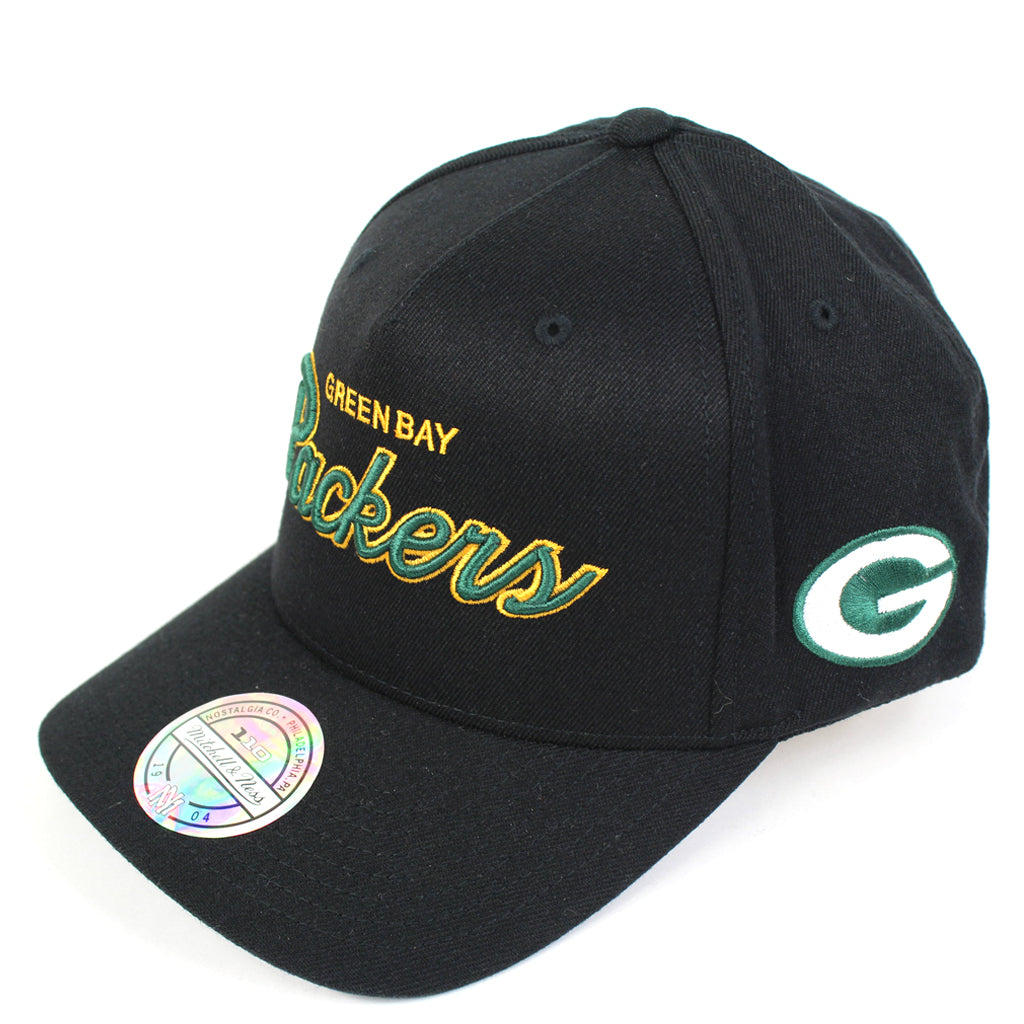 Mitchell and Ness Green Bay Packers Defense PP Flex 110 Snapback