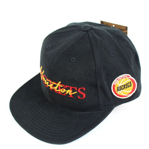 Mitchell and Ness Houston Rockets 3 2 Zone Deadstock Snapback