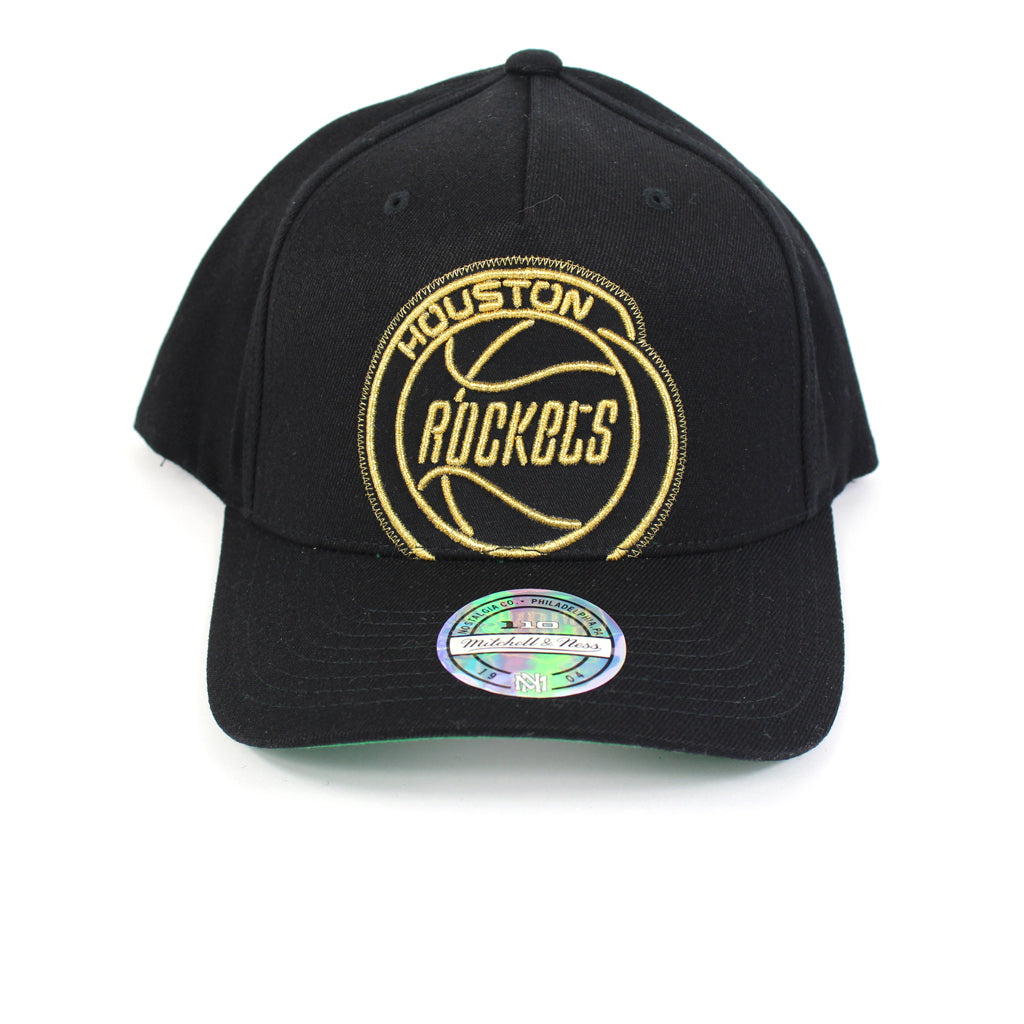 Mitchell and Ness Houston Rockets Crop Neon PP Flex 110 Snapback