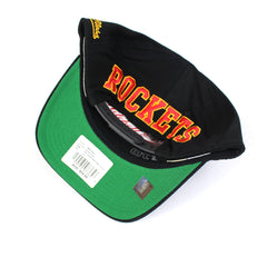 Mitchell and Ness Houston Rockets Drop Back PP Flex 110 Snapback