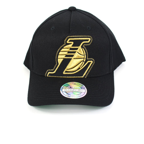 Mitchell and Ness LA Lakers Crop Neon PP Flex 110 Snapback