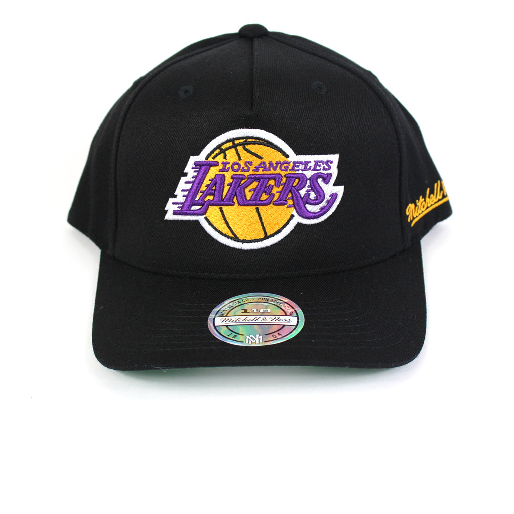 Mitchell and Ness LA Lakers Drop Back PP Flex 110 Snapback