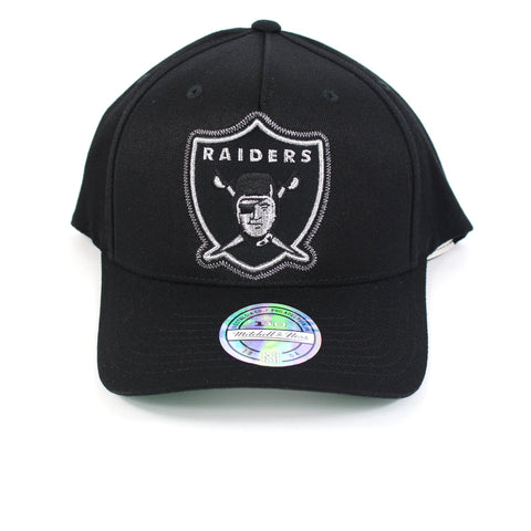 Mitchell and Ness Oakland Raiders Crop Neon PP Flex 110 Snapback