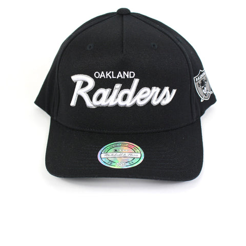 Mitchell and Ness Oakland Raiders Defense PP Flex 110 Snapback