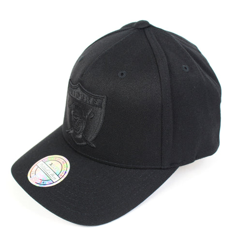 Mitchell and Ness Oakland Raiders Interception PP Flex 110 Snapback