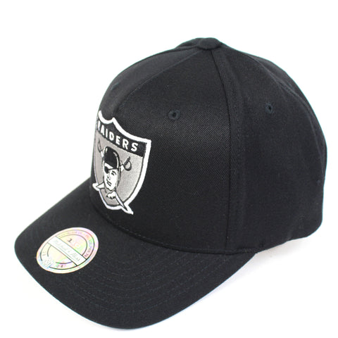Mitchell and Ness Oakland Raiders Wide Receiver PP Flex 110 Snapback