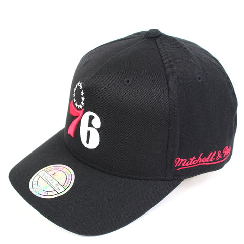 Mitchell and Ness Philadelphia 76ers Drop Back PP Flex 110 Snapback