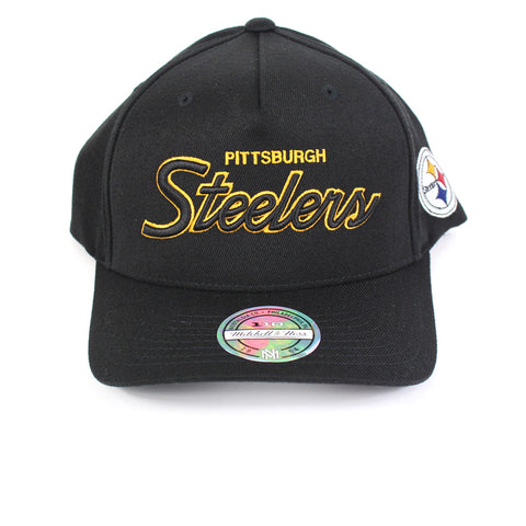 Mitchell and Ness Pittsburgh Steelers Defense PP Flex 110 Snapback