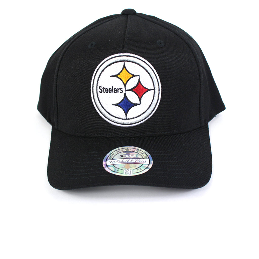 Mitchell and Ness Pittsburgh Steelers Wide Receiver PP Flex 110 Snapback