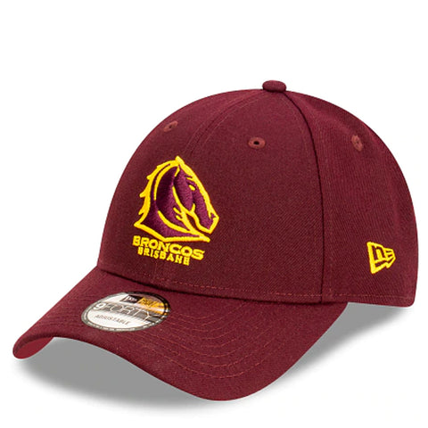 Brisbane Broncos Hat Maroon NRL 2021 Kick Off Snapback New Era