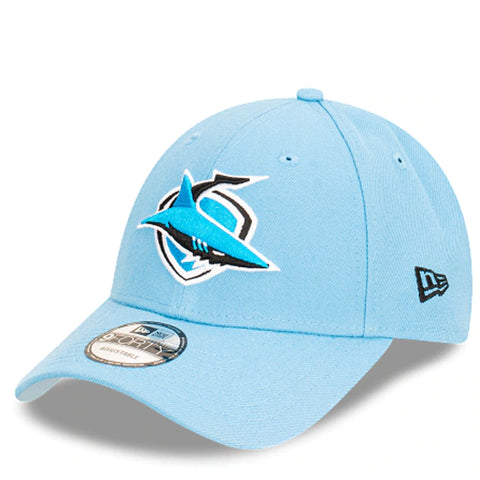 Cronulla-Sutherland Sharks Hat Light Blue NRL 2021 Kick Off Snapback New Era