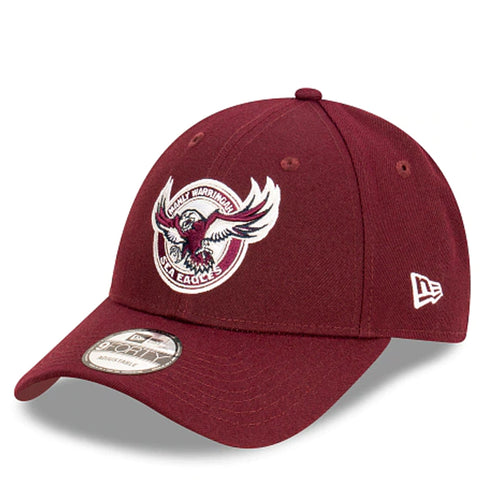 Manly Warringah Sea Eagles Hat Maroon NRL 2021 Kick Off Snapback New Era