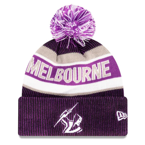 Melbourne Storm Beanie Purple NRL 2021 Official Collection New Era