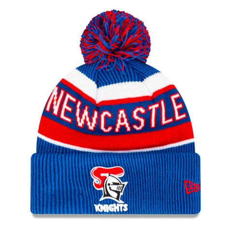 Newcastle Knights Beanie Blue NRL 2021 Official Collection New Era
