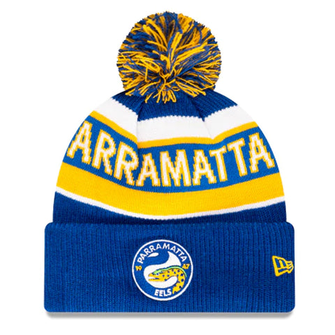 Parramatta Eels Beanie Blue NRL 2021 Official Collection New Era