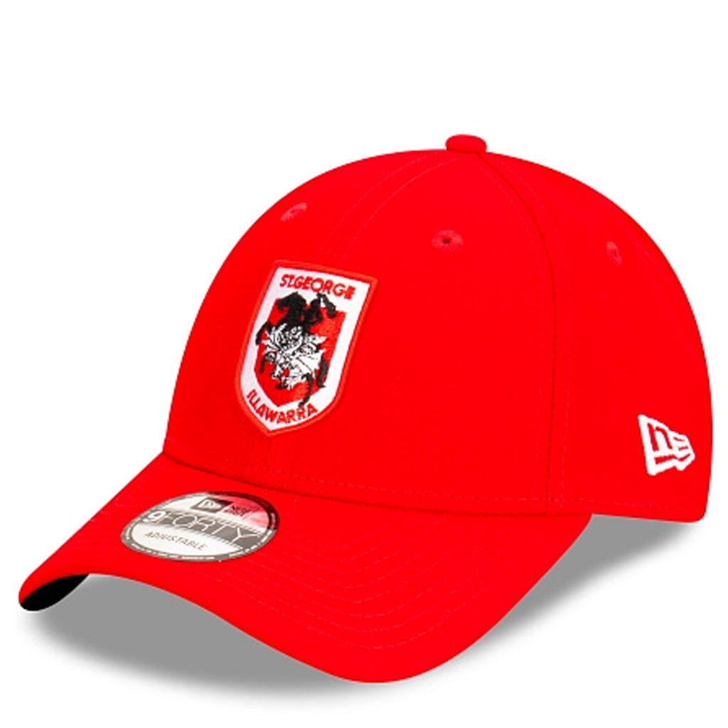 St George Illawarra Hat Red NRL 2021 Kick Off Snapback New Era